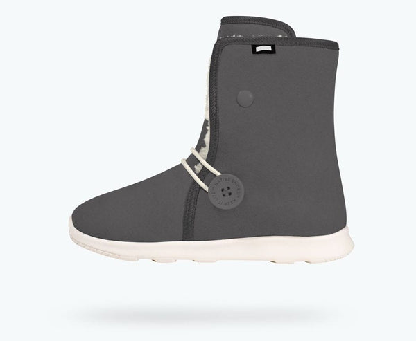 Native AP Luna Boot Grey & White