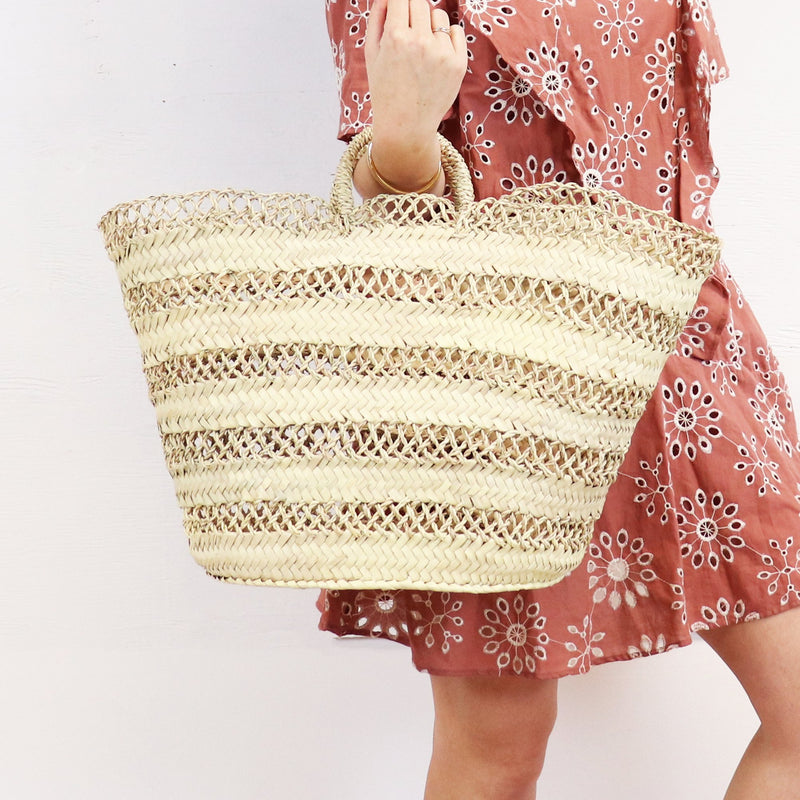 Socco Cannes French Basket Tote