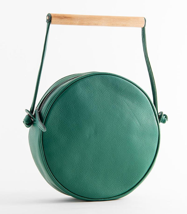 Flaneur Clutch/ Shoulder bag Green