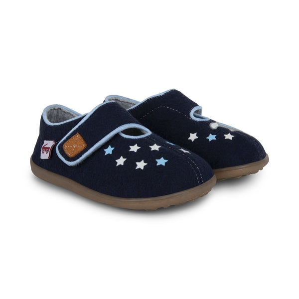 See Kai Run Slipper Cruz II | Navy Stars