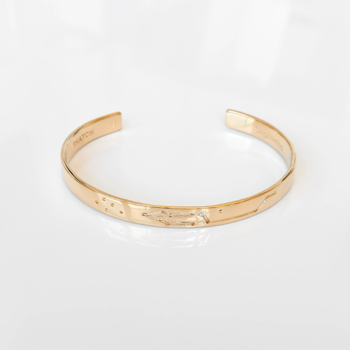 Thatch Constellation Cuff Plated 14K Gold