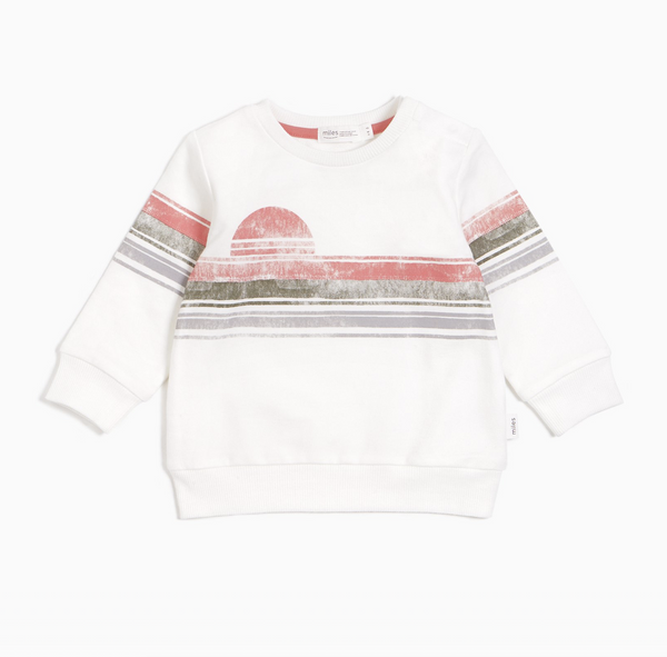 Miles Lakeview Pullover - Melon