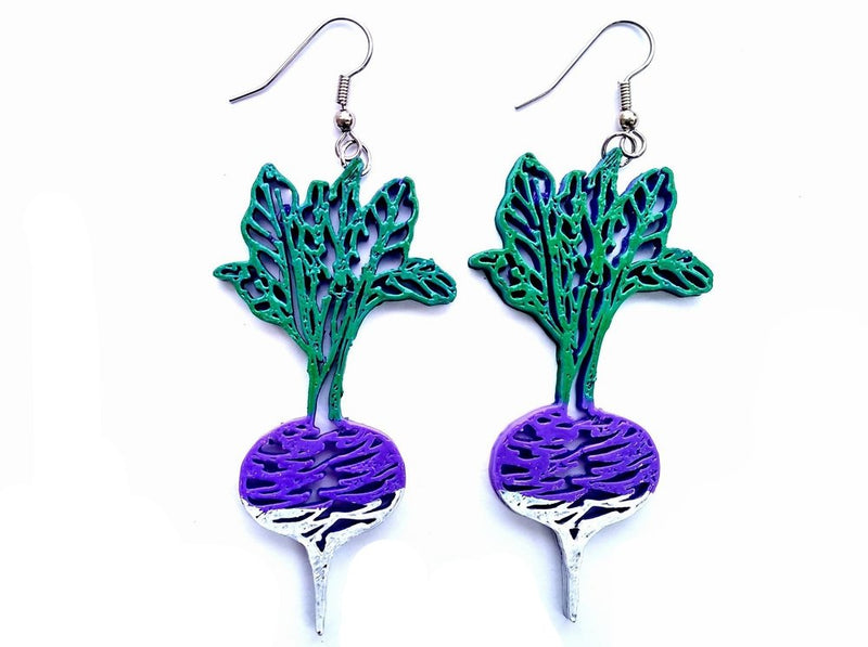 Turnip Earrings