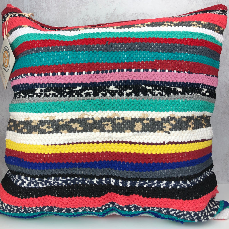 Winter Stripe Trapo Pillow - Cityhome