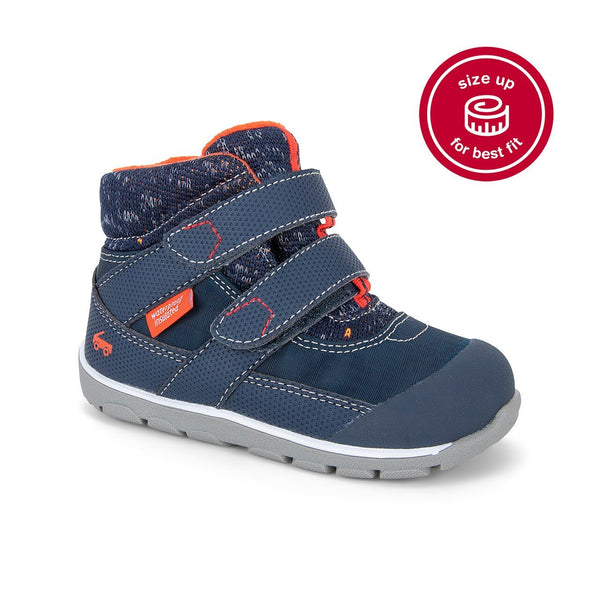Atlas Waterproof/Insulated Navy/Red