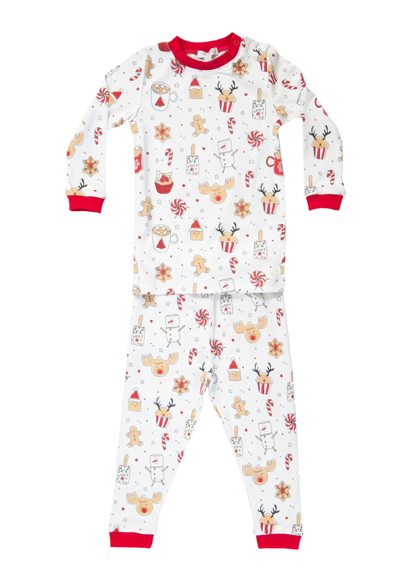 Baby Noomie Holiday Treats Pajamas