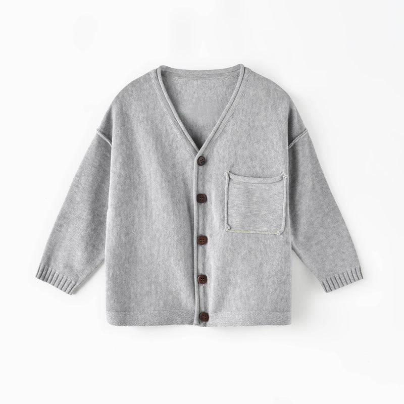 Basic Button-Down Cardigan