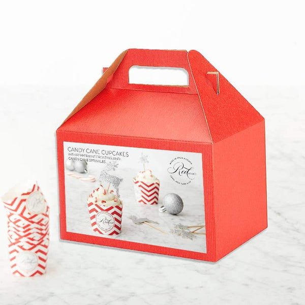 Candy Cane Cupcakes DIY BAKING KIT