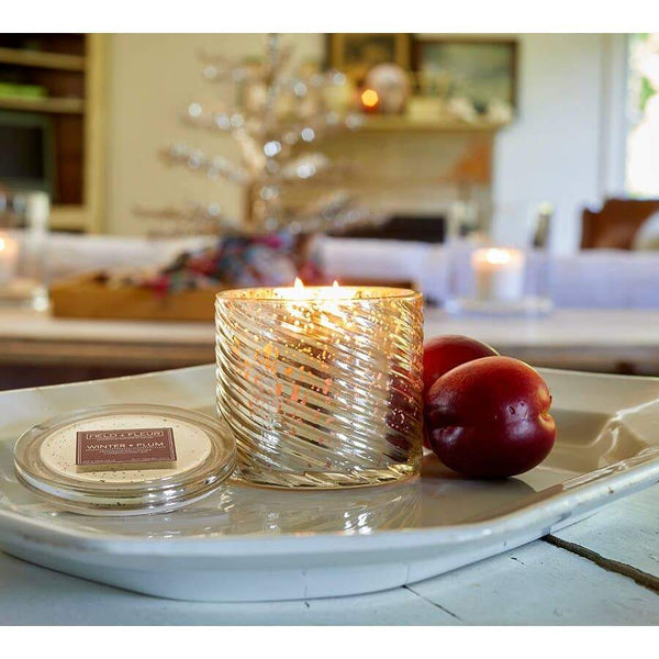 Winter Plum 2-Wick Mercury Candle