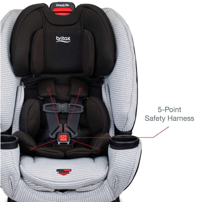 Britax One4Life Clean Comfort Car Seat with Anti-Rebound Bar