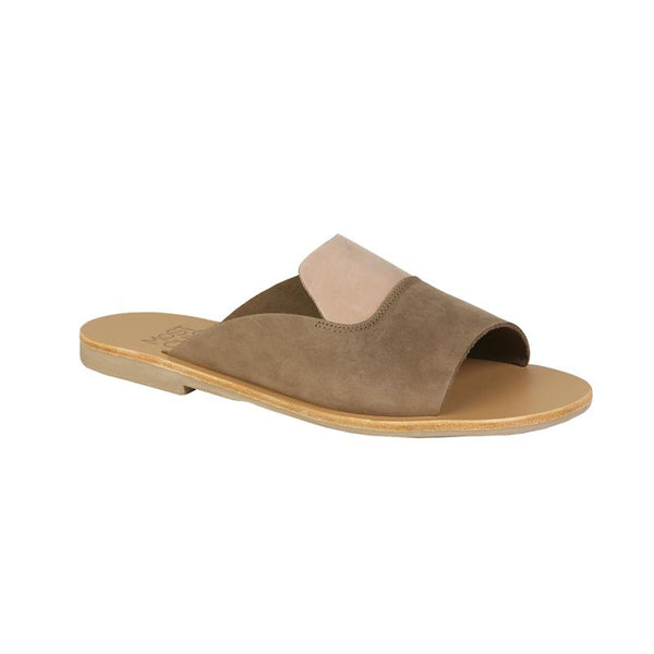 Most Chic Linum sabbia nubuck leather sandals
