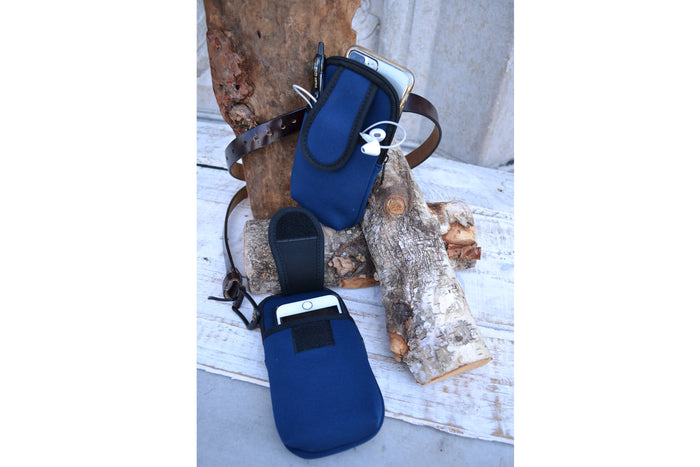 Belt Phone holder, Phone Pouch for Belt - OakPo Paper Co.