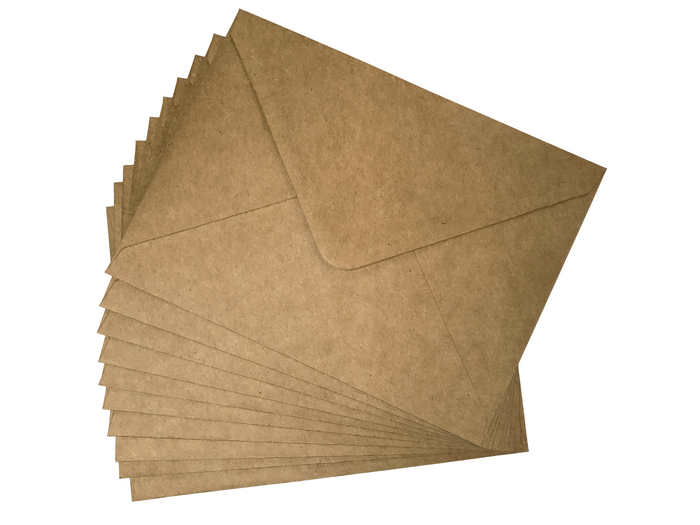 Kraft Paper-- A7.5 Envelope - OakPo Paper Co.