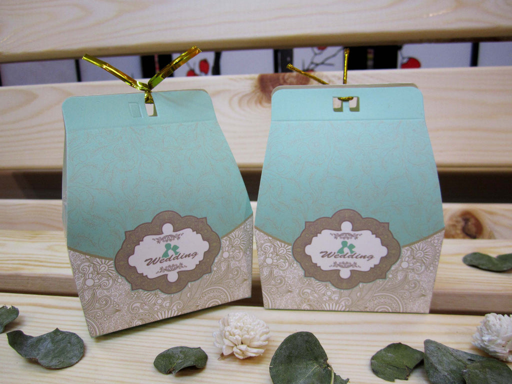 Robins Egg Blue Gift Box - OakPo Paper Co.
