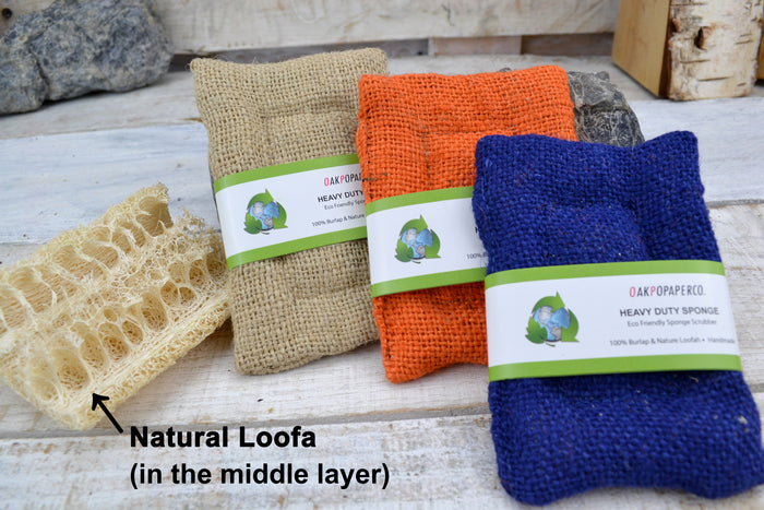 Reusable Natural Loofa Sponge
