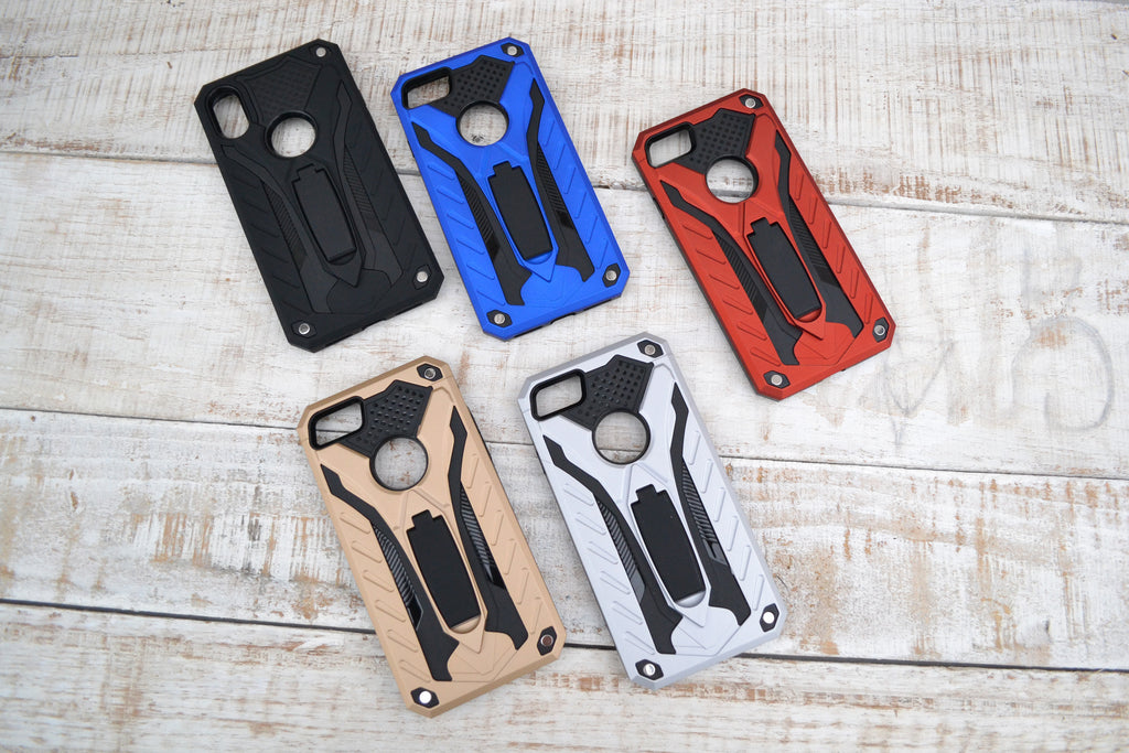 iphone X / iphone 8/ iphone 7 Silicon Case, Shockproof  Drop Protection, Kickstand Case - OakPo Paper Co.