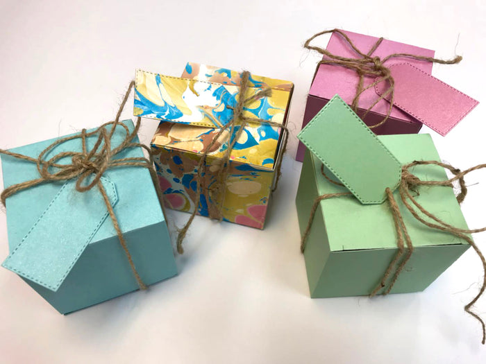 3x3x3 Square gift box 10 boxes - OakPo Paper Co.