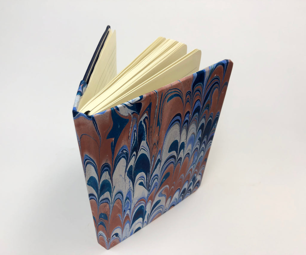 5x7 Marbled hardcover notebook - OakPo Paper Co.