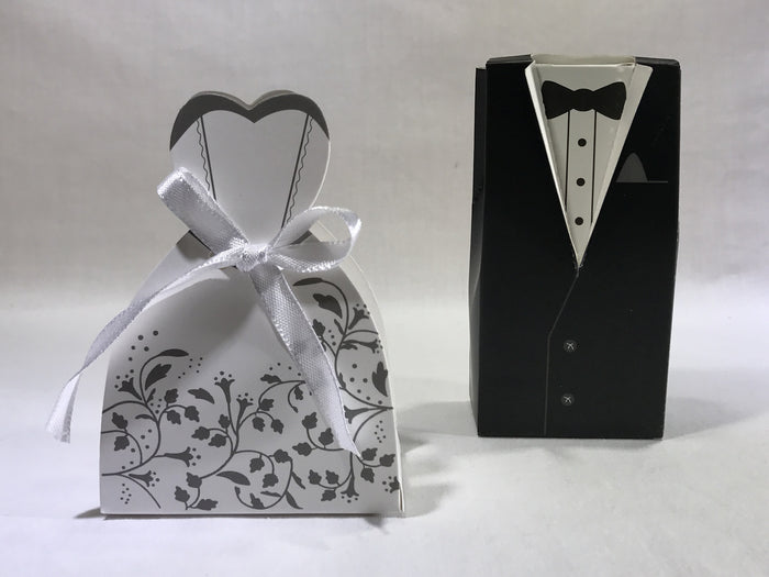 10 Bride & Groom Gift Box ( B12 ) - OakPo Paper Co.