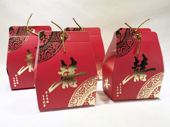 10 Double Happiess Gift Box (B01) - OakPo Paper Co.