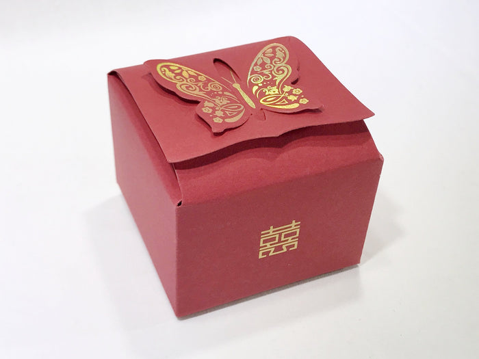 10 Butterfly Gift Box (B07) - OakPo Paper Co.