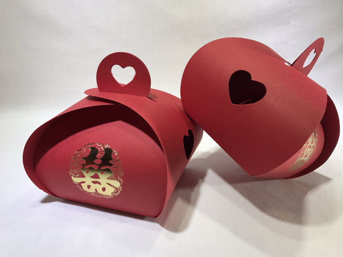 10 Hollow Heart Gift Box (B08) - OakPo Paper Co.