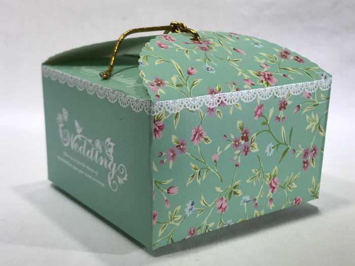 10 Flower Gift Box ( B14 ) - OakPo Paper Co.