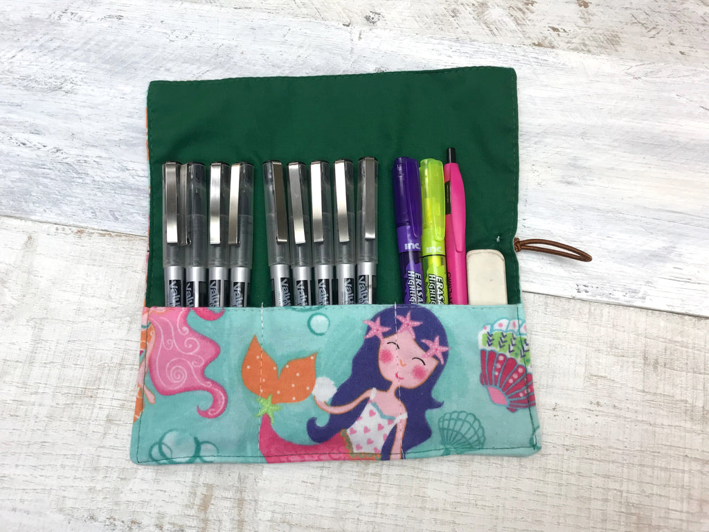 Pencil/ Crayon Roll, Pen Wrap