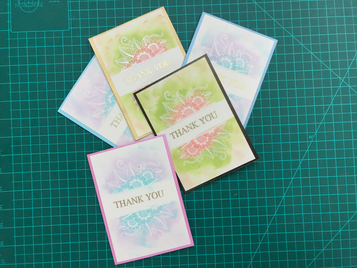 DIY THANK YOU CARD - OakPo Paper Co.