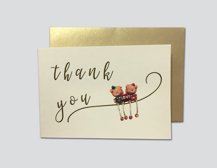Thank You Cards # A - OakPo Paper Co.