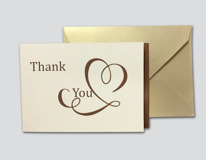 Thank You Cards # D - OakPo Paper Co.