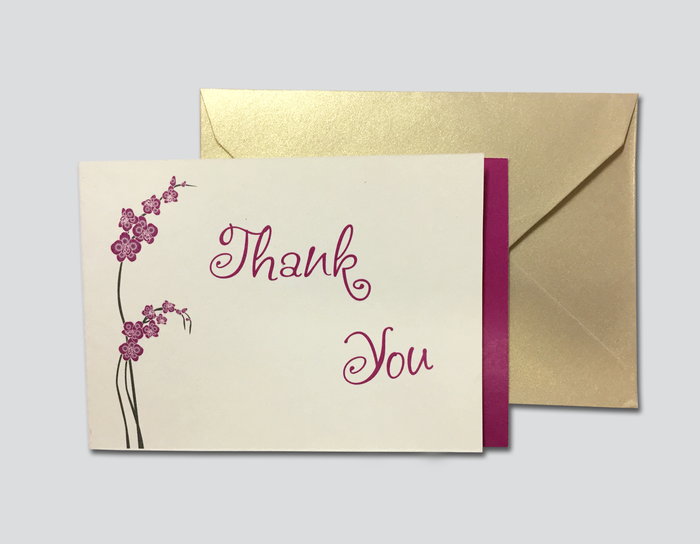 Thank You Cards # C - OakPo Paper Co.