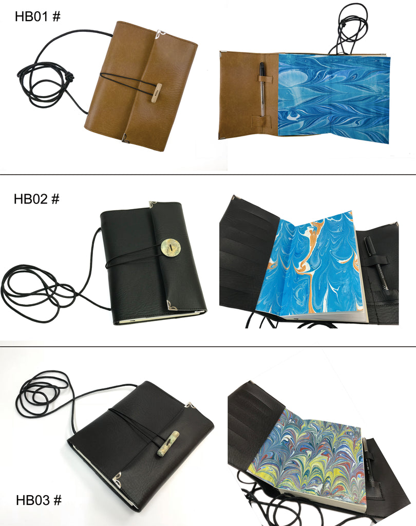 6''x8'' Handbag Style notebook - OakPo Paper Co.