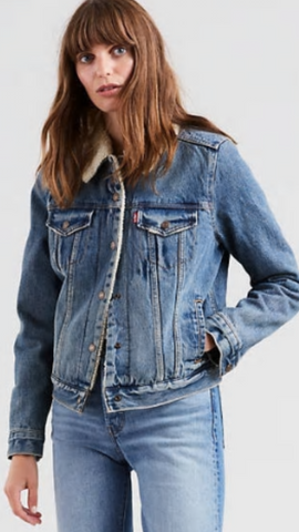 Levi's Sherpa Jean Jacket Extremely Lovable