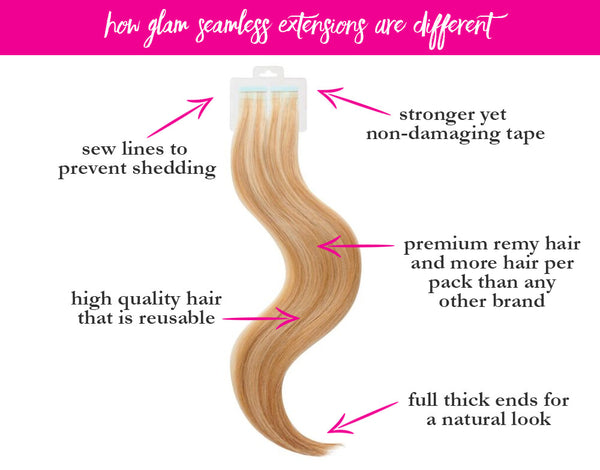 Semi Permanent Hair Extensions | Best Hair Extension Methods