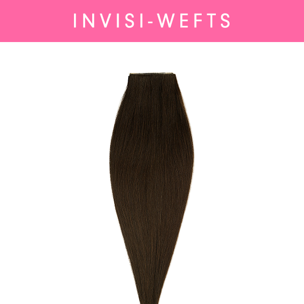Pre-Taped Invisi-Weft Bundles