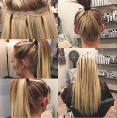 5 reasons why tape extensions are the best hair extension method tape in extensions pmusecretfo Image collections