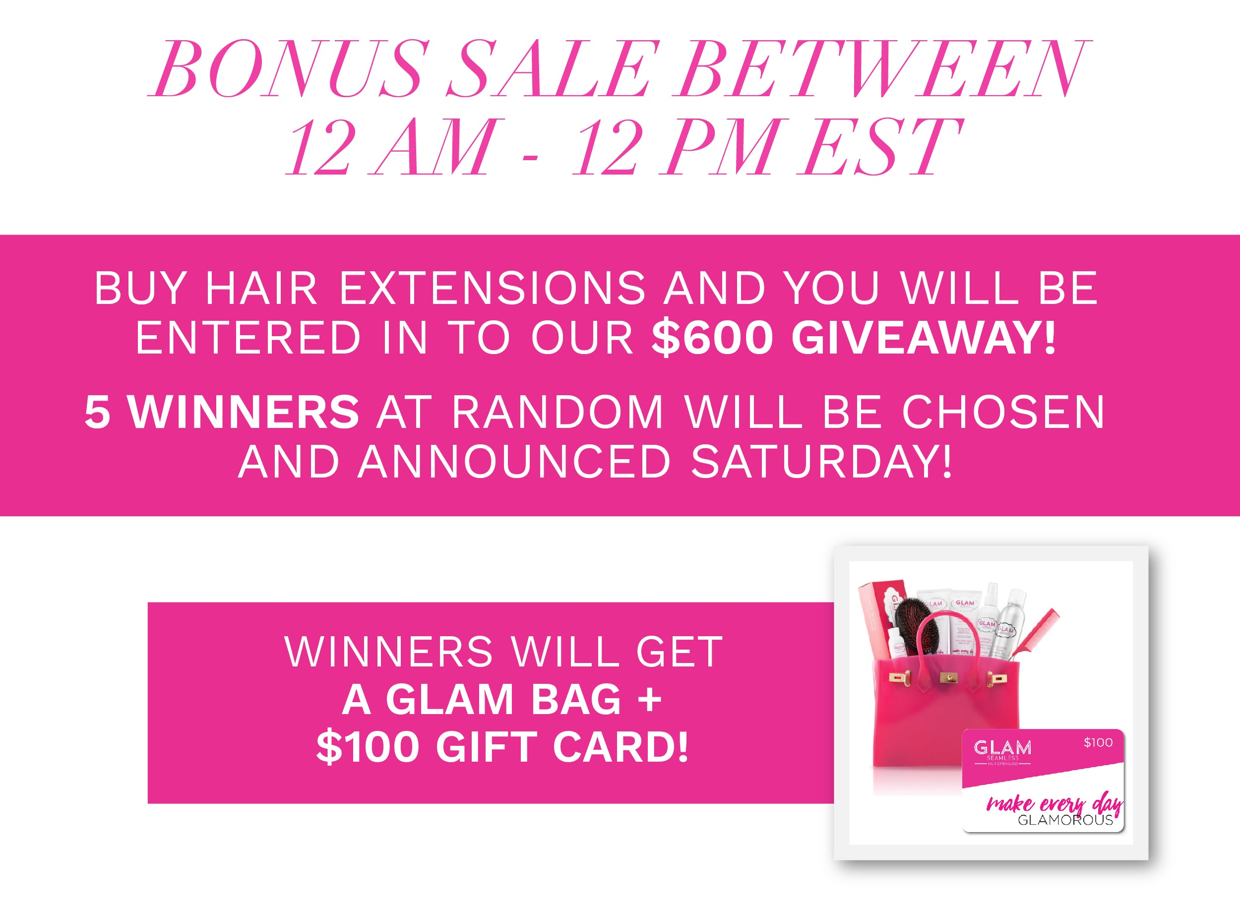 Glam Seamless Black Friday Sale