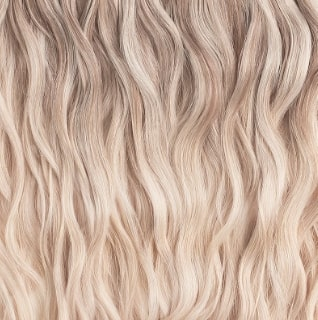 iced-champagne-blonde-balayage-beach-wave-clip-in