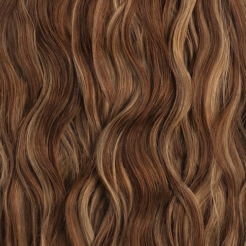 mocha-bronde-balayage-beach-wave-clip-in
