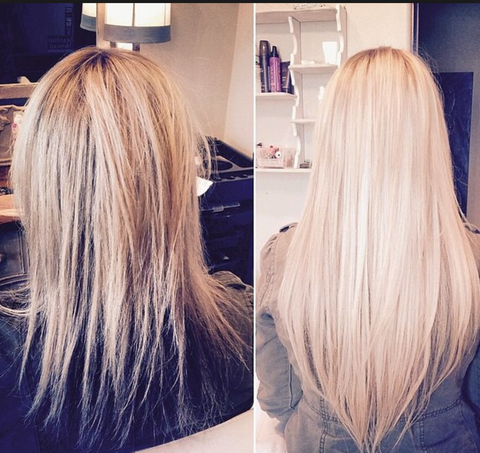 Extensiones Para Fino O Corto Glam Seamless Hair Extensions