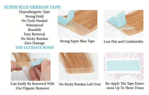 tape for tape extensions