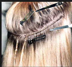 Semi Permanent Hair Extensions