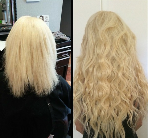 Hair Extensions For Short Hair You Can Get Long Hair Instantly Glam Seamless Hair Extensions