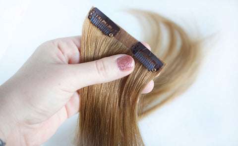 invisible clip in hair extensions