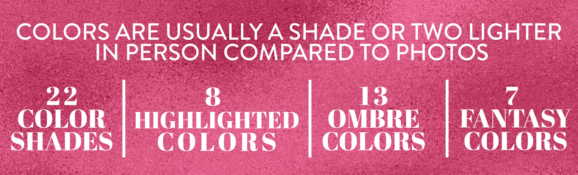 Glam Seamless extensions wide selection of shades