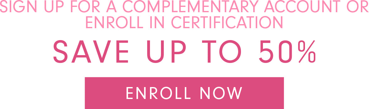 Enroll now in Glam Seamless account or certification