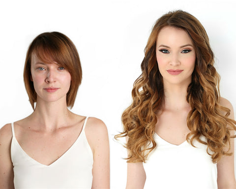 Chemical Free Color Options Using Hair Extensions