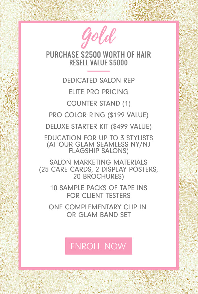 Gold Glam Seamless Partner Package