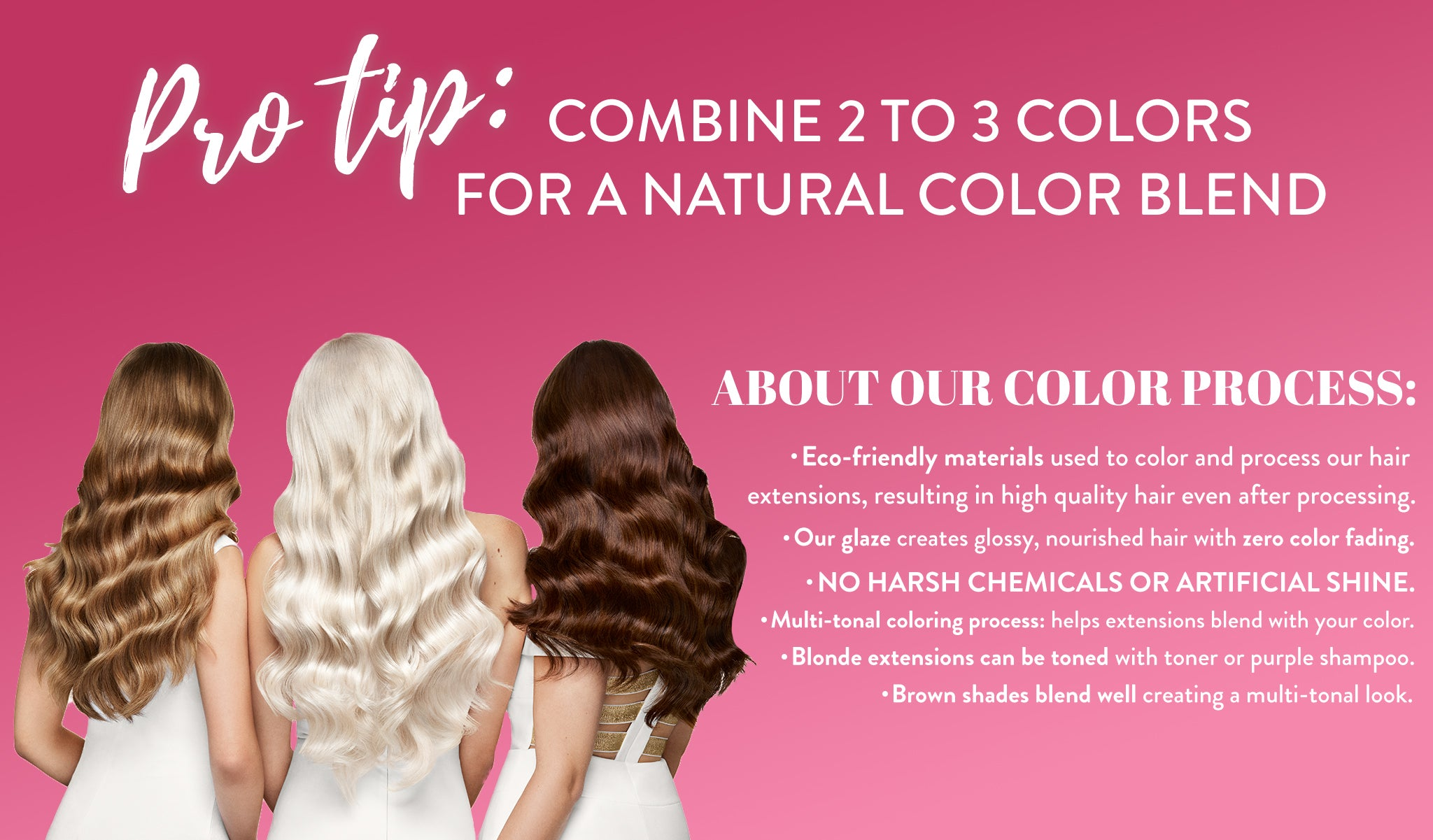 Pro tips for hair extension color matching